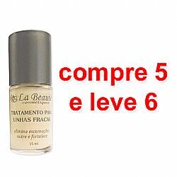 Tratamento Para Unhas Fracas - 15 ml - La Beauté- Compre 5 e leve 6